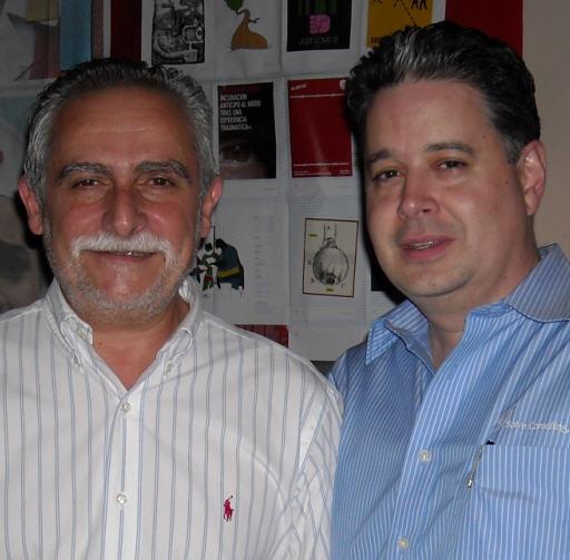 Anibal Carospreso y Jesus Hoyos